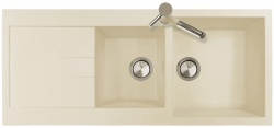 Sinks Sinks AMANDA 1160 DUO Sahara + Sinks MIX 35 - 50 Sahara
