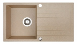 Sinks Sinks RAPID 780 Beige + Sinks MIX 350 P lesklá